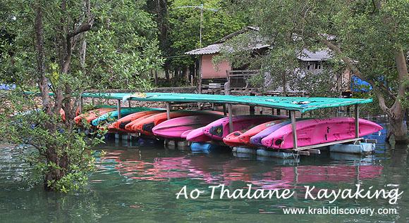 Ao Thalane Kayaking