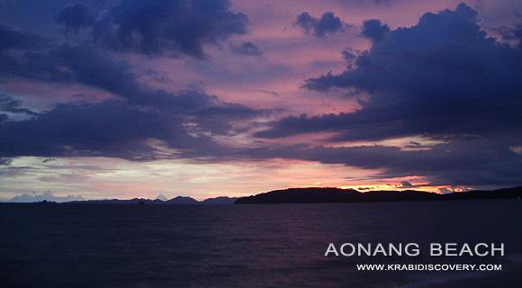 Aonang beach, Krabi Thailand